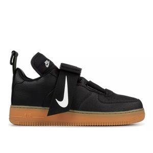 Nike Air Force 1 Utility Mens Shoes Black